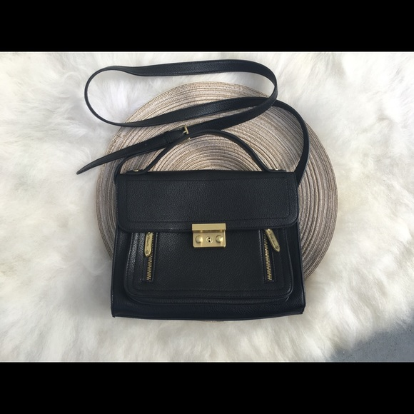 eec7722ca2 Handbags - 3.1 Philip Lim Black Mini crossbody bag zip Rad